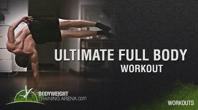 Ultimate full Body Calisthenics Workout