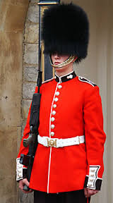 Queen's Guard: Copy Their Posture!